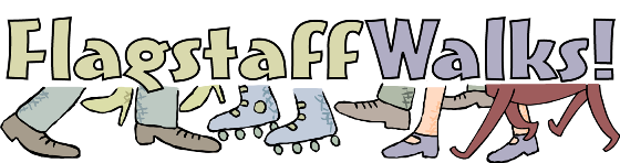Flagstaff Walks logo