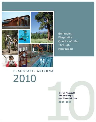 2010 City of Flagstaff Annual Budget and Financial Plan (PDF)