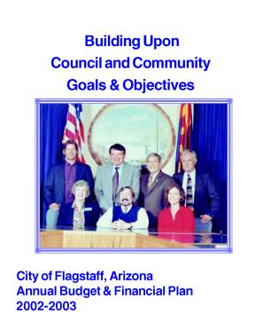 Building Upon Council and Community Goals and Objectives