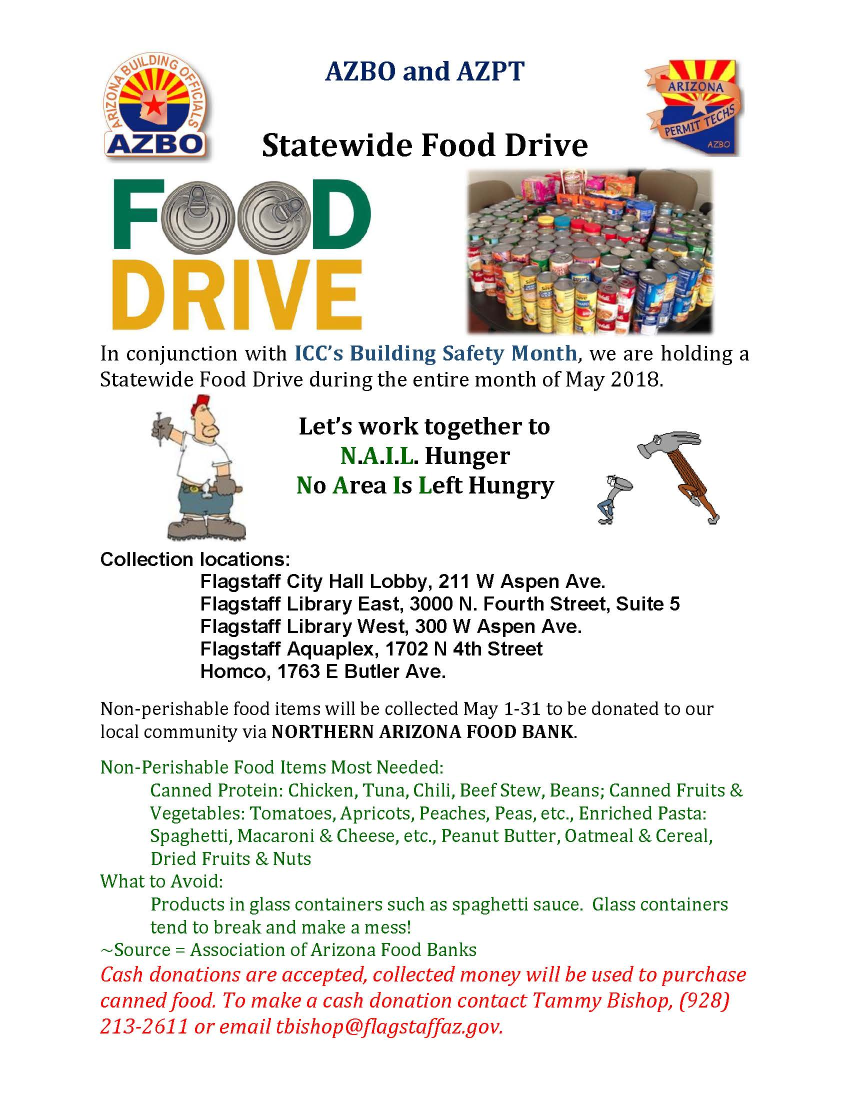 State Wide Food Drive Flyer Coconino (002)