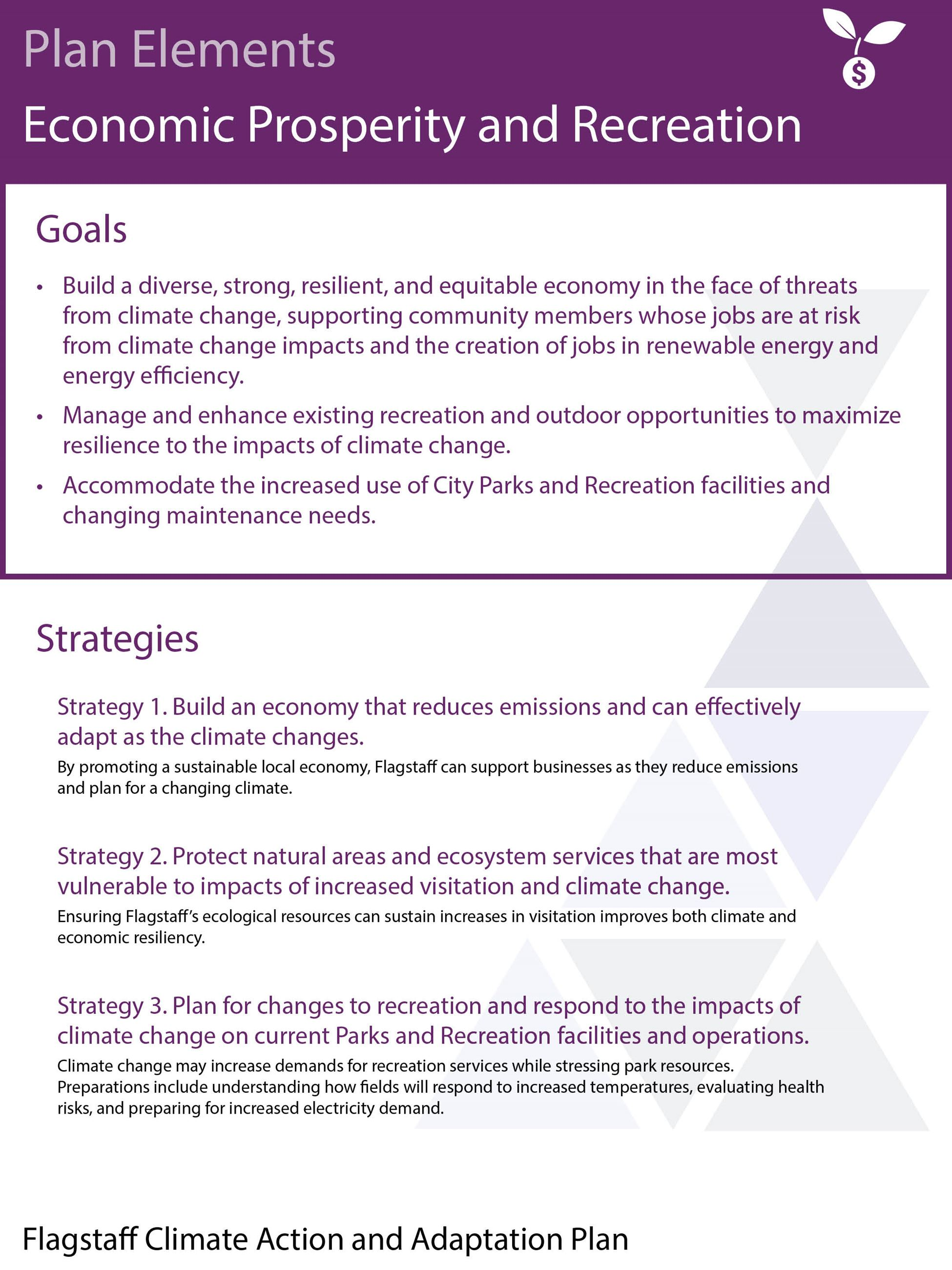 economic prosperity and recreation goals and strategies_October Draft