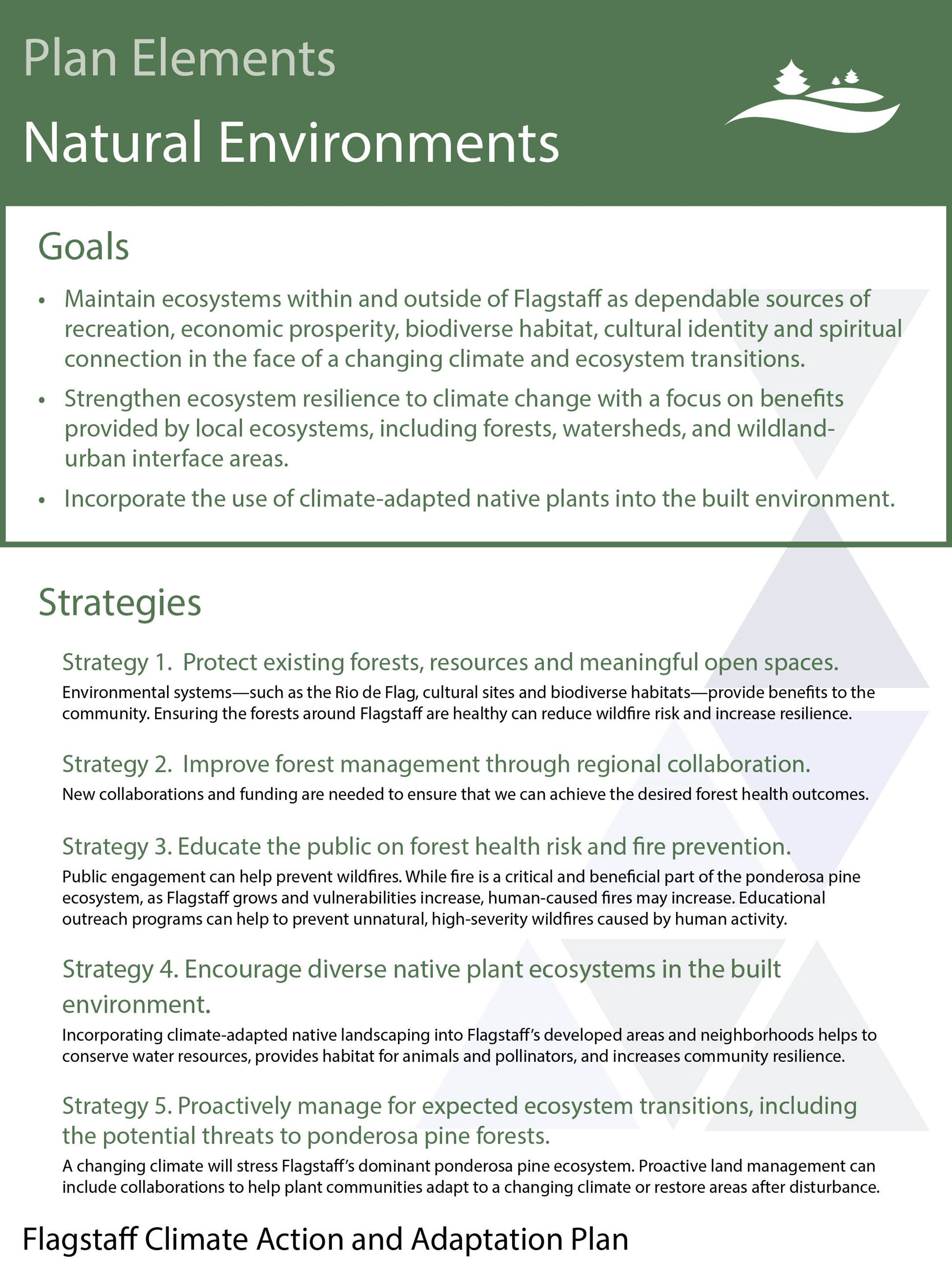 natural environments goals and strategies_October Draft