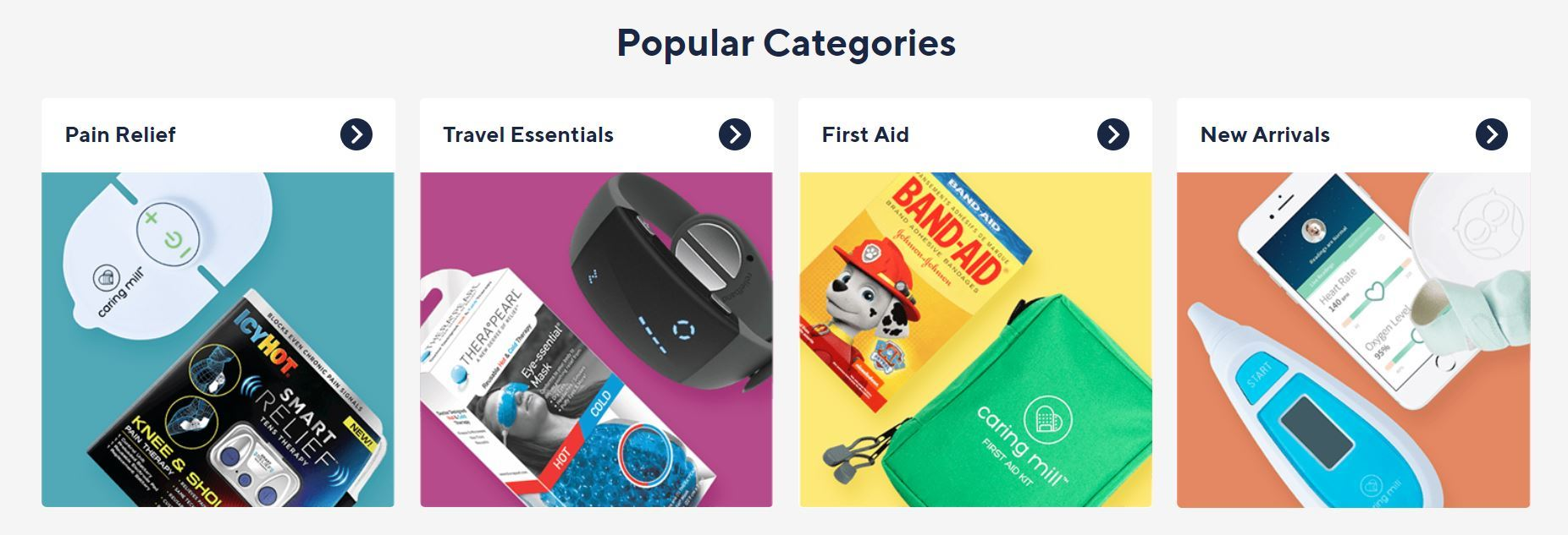 FSA Store popular categories