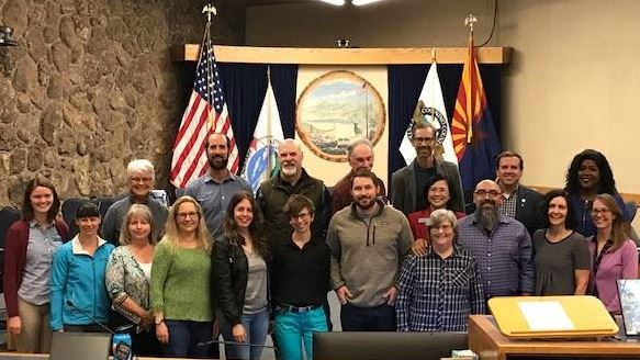 Climate Leader City Council recognition_group