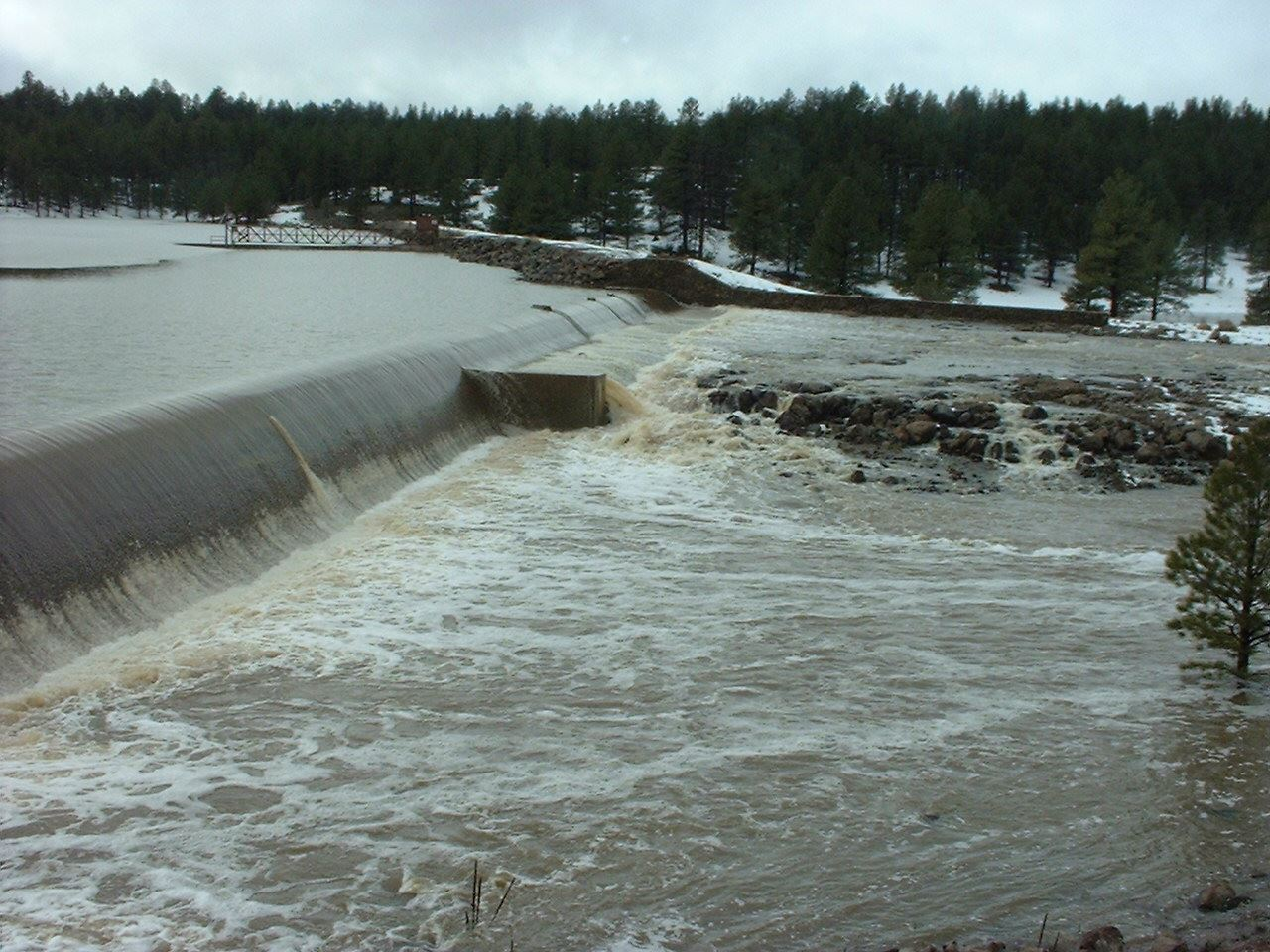 Upper Lake Mary Spillway