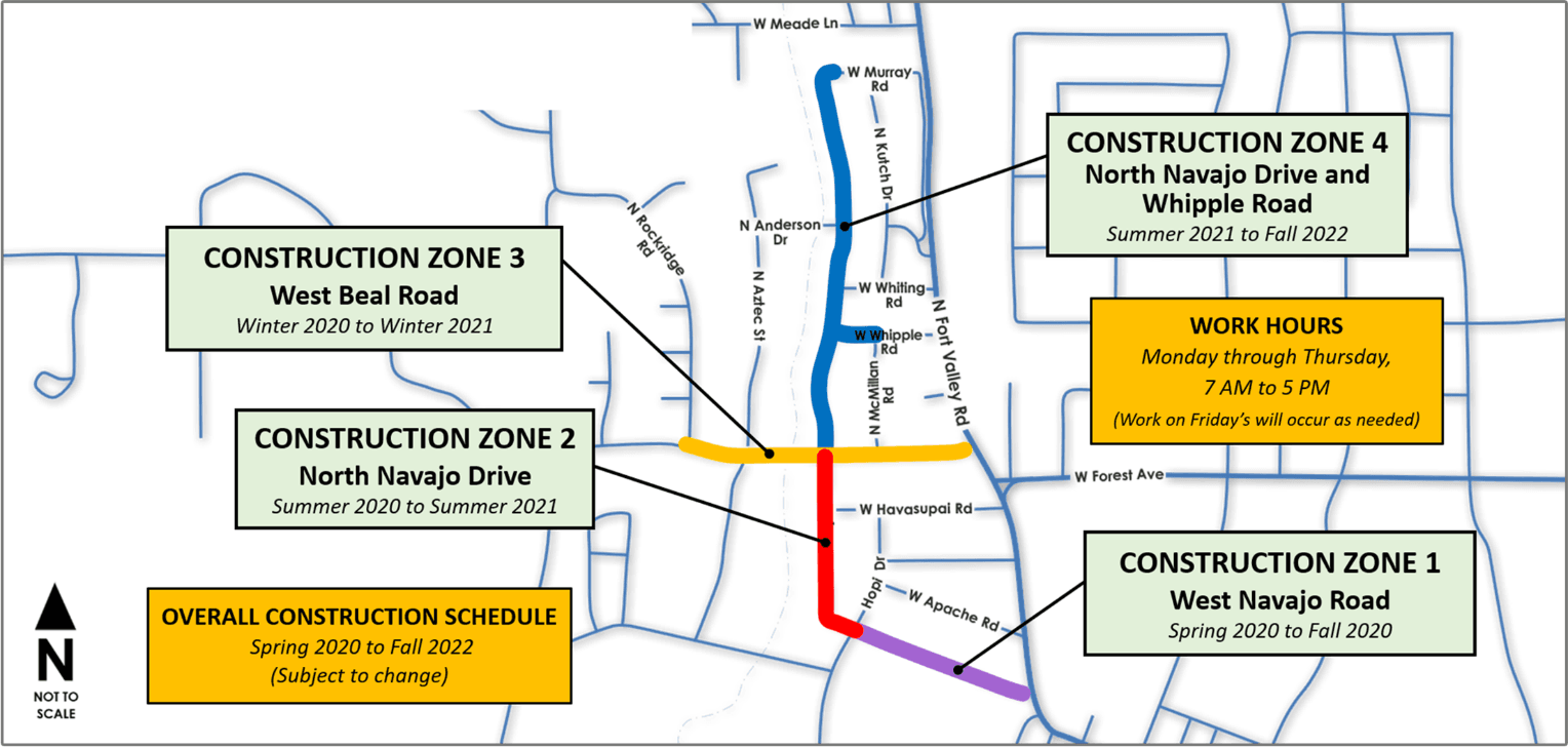 Construction Zone Map