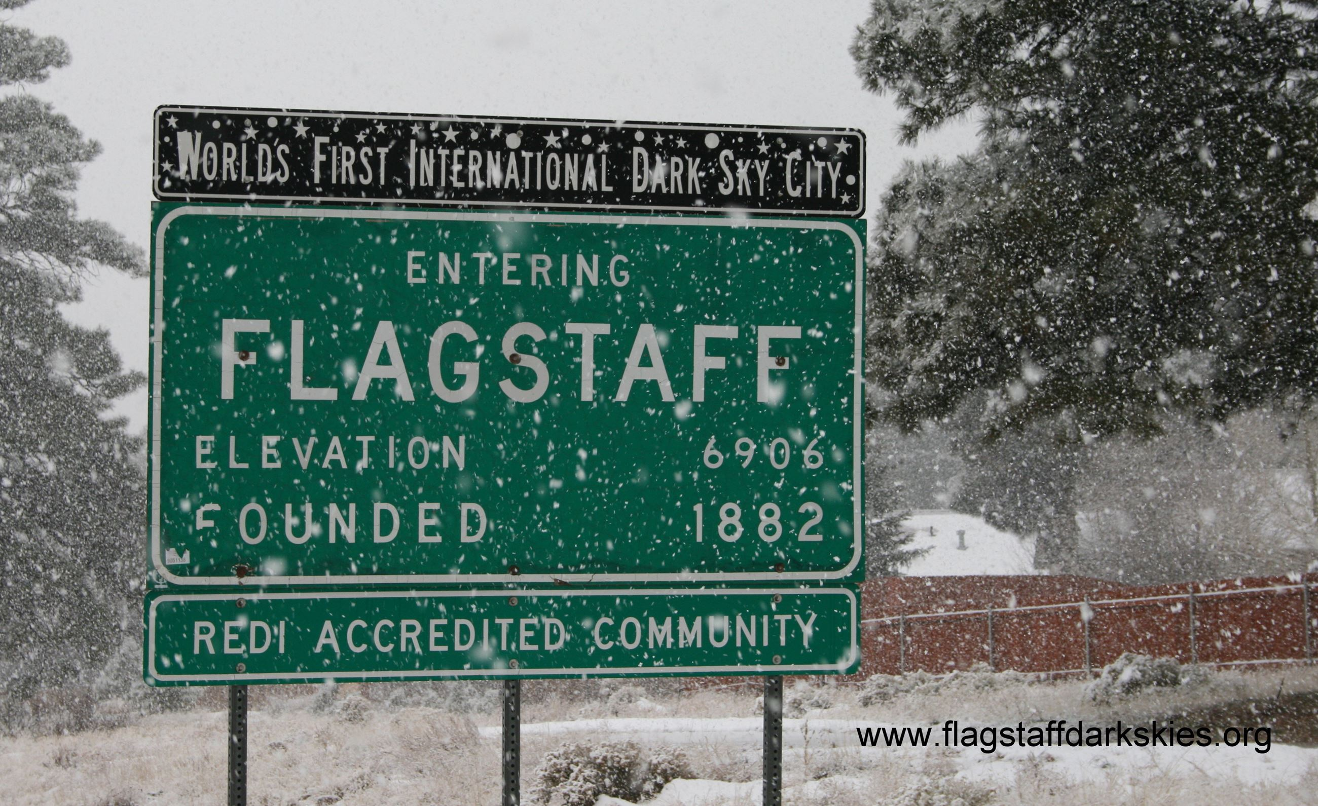 Flagstaff Entry Sign