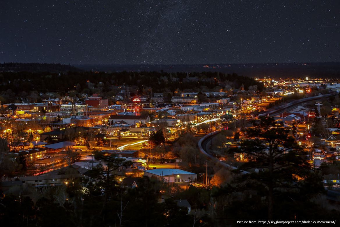 Starry Flagstaff at Night