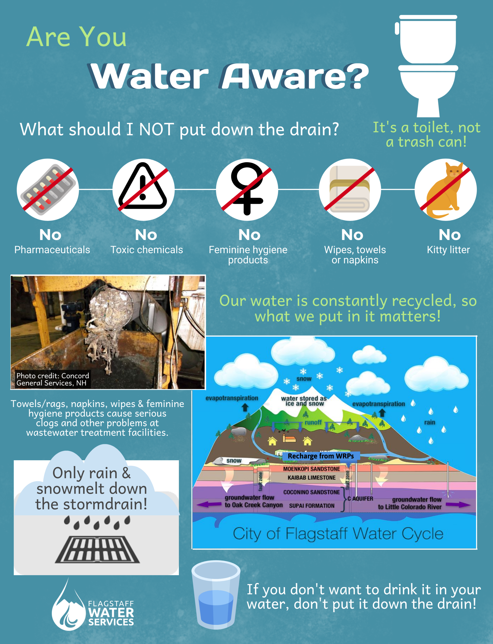 Water Awareness Infographic
