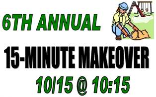 6th Annual 15-Minute Makeover