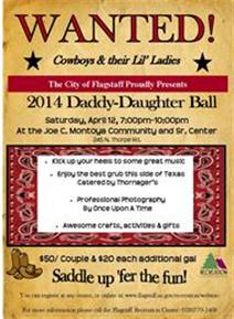 Flyer daddy daughter ball