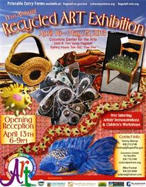 11th Annual Recycled Art Exhibition