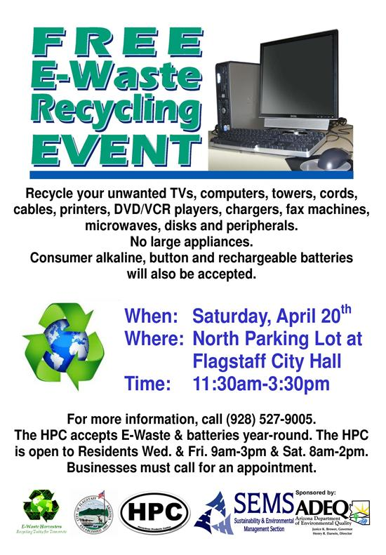 2013 Free E-Waste Recycling Event!