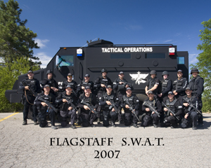 2007 SWAT Team Portrait