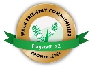 Walk Friendly Community award