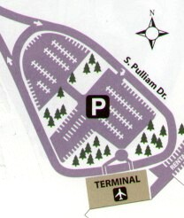 Aiport Parking Map