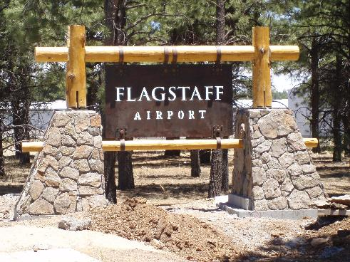 Airport Gateway Sign