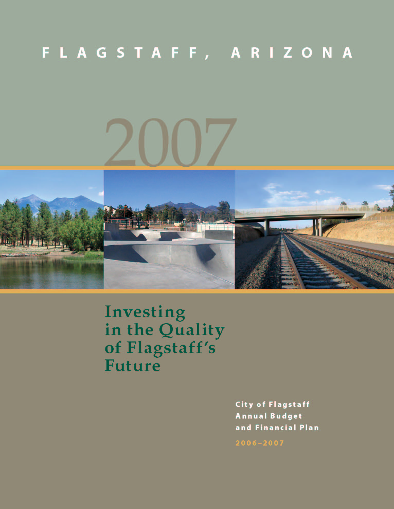 2007 Cover Page