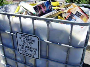 Phone Book Recycling