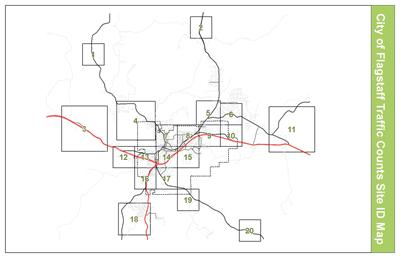 Traffic Volumes  City Of Flagstaff Official Website