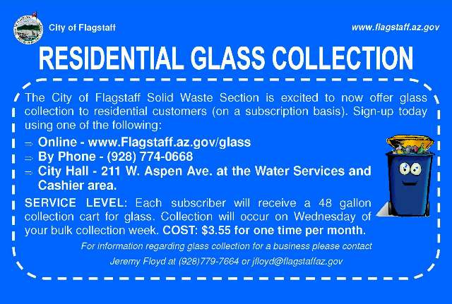 Residential Glass Collection Program